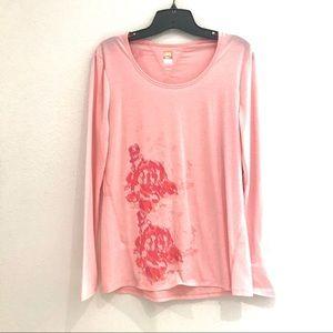 💚3/$25Lucy Tech Workout Shirt Peach Coral Top